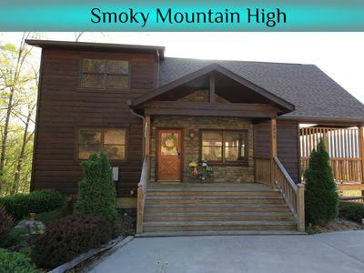 Photo for Great for families!  3 King Master Suites! Amazing views, Home Theater, Hot Tub