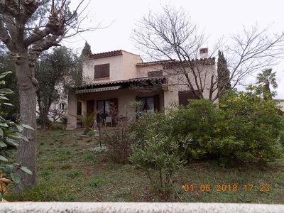 Photo for Villa 120m2, Fréjus / Saint Raphaël limit, 3 bedrooms / 6 people, from 600 to 980 €