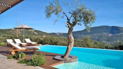 Photo for 5% OFF:Luxury spacious villa with privepool & jacuzzi, close to our own winery!