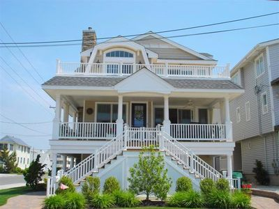 Photo for Newer Beachblock townhouse with no streets to cross to beach, 3rd house from beach!