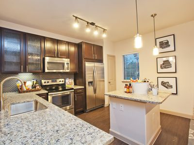 Photo for Modern, Beautiful, Spacious 2 Bed/2 Bath Apartment! - North Houston