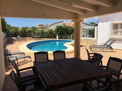 Photo for Spacious villa in Javea, very quiet location, beautiful view of the Montgo