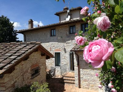 Photo for Great escape!  Spacious home on beautiful Tuscan vineyard.  Near Florence.