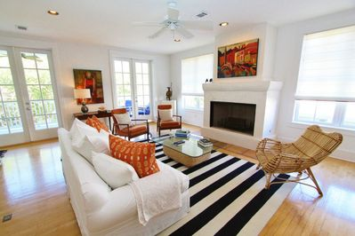 Elegant Living Room With Comfortable Seating
