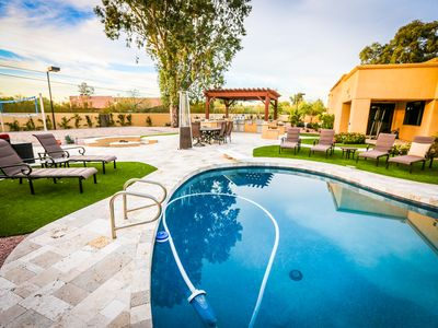Photo for Reduced Apr Rates at 5 BR, 6000 sqft. Resort (Volleyball, B-ball, Heated Pool)