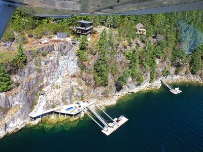 Photo for The Quarrybbean: A West Coast Island Retreat - Quarry Bay, Nelson Island, BC