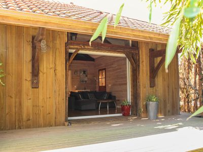 Photo for Unusual cottage in the countryside - 10 minutes from Hossegor