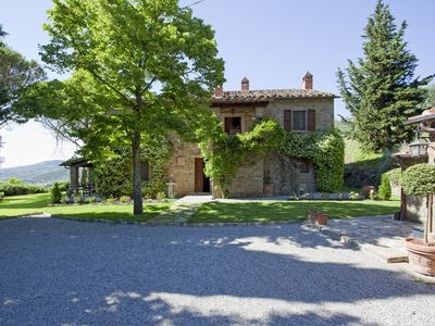 Photo for Typical Tuscan farmhouse in Cortona with swimming pool