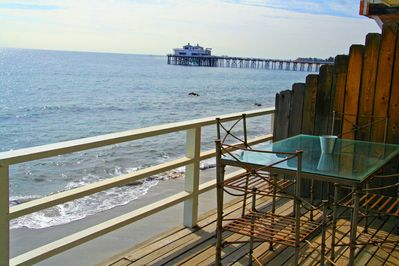 Relax and enjoy the ocean views from the deck