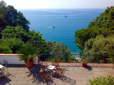 Photo for Casa De Angelis with private parking and direct access to the beach