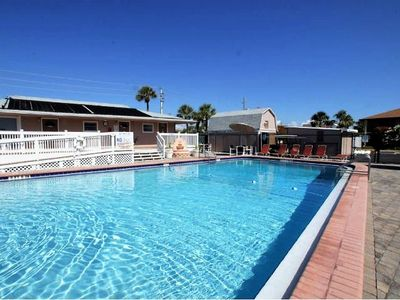 Photo for Cocoa Beach Oceanfront Complex with Pool,  Beach Access, Sleeps 6