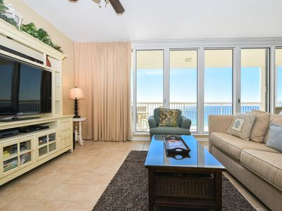 Photo for Beach-Front End Unit: Includes FREE Seasonal Beach Service! TWO KING BEDS!😎👓