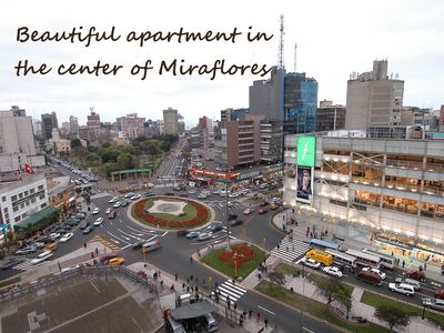 Photo for Beautiful apartment in the center of Miraflores