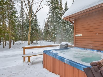 Photo for Chalet Chevreuil Zen /  Spa / National park / Tremblant