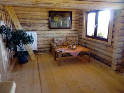 Photo for Quaint hut apartment at the horse farm with balcony