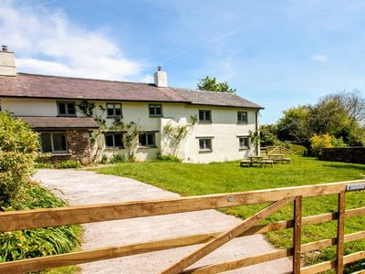 Photo for Middle Stolford Cottage, sleeps up to 9 guests in rural Somerset