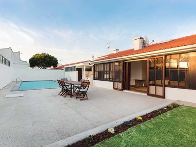 Photo for 4 bedroom Villa, sleeps 8 in Moldes with Pool, Air Con and WiFi