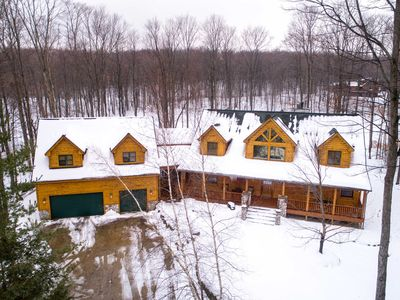 Photo for Quintessential Northern Michigan Vacation Home - Sleeps 24