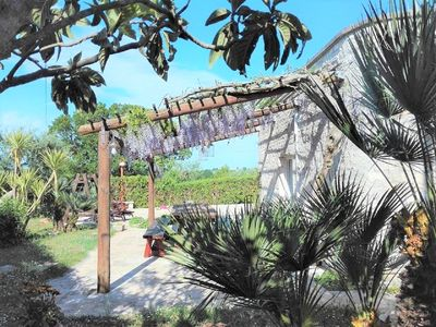Photo for TRULLI with Central Unit Pool up to 6 people