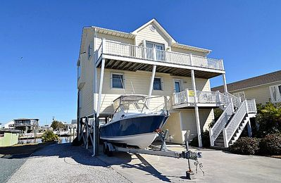 Photo for Beach Ball - Stunning Water View, Canal Front, Boat Ramp & Dock, Near Ocean