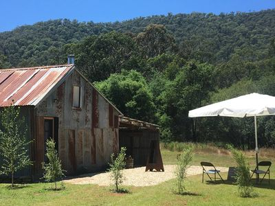 Photo for Rustic Barn on Ovens River with Bell Tent Retreat