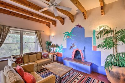 'El Diamonte' offers a 1-bedroom, 1-bath vacation rental retreat.