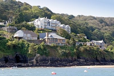 Photo for Apartment With Sea Views Of South Sands Beach, Salcombe With Parking for 2 cars.