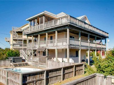 Photo for Oceanview Paradise, Waves w/ Pool & Tiki Bar, Hot Tub, Game Room, Dog-Friendly
