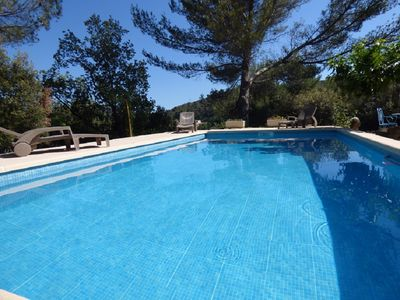 Photo for Villa under the pines, private pool, quiet