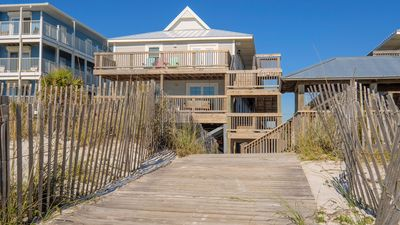 Photo for Newly remodeled beachside condo! Just steps to the sand!