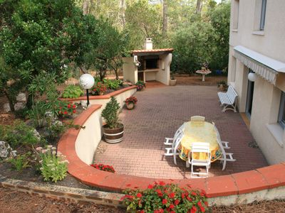 Photo for Storey apartment with terrace garden and barbecue