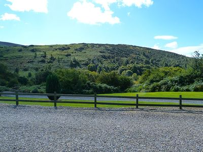 View from the front of the property of the surrounding hills