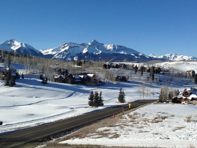 Photo for Telluride Luxury Home -amazing views- 3br 4 bath inside Mtn Village resort