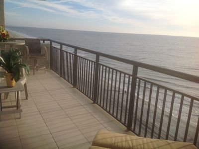 Photo for Ocean Front 2 Bedroom with Large Balcony