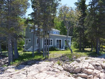 Photo for Oceanfront Home Near Schoodic Point, Grindstone & Bar Harbor Ferry