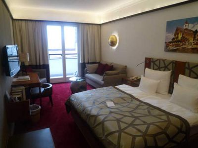 Photo for Double Room with Balcony - Romantic Hotel White Horse Inn