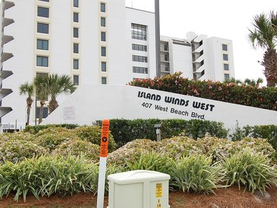 Photo for Island Winds West 678: Beautiful 2 bedroom Gulf Front condo overlooking beach