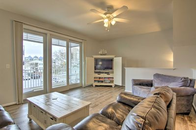 Discover the good life when you stay at this midtown Ocean City townhome!