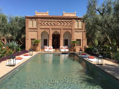 Photo for The Tafoukt Palace: 2 magnificent Riads in the middle of a huge Garden of Eden.