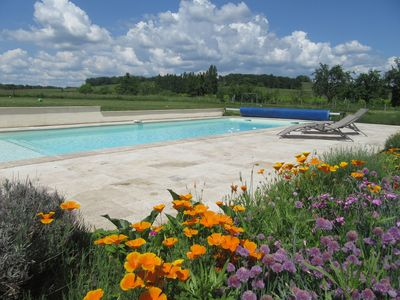 Photo for Large Converted Barn with Heated Swimming Pool in Dordogne Countryside