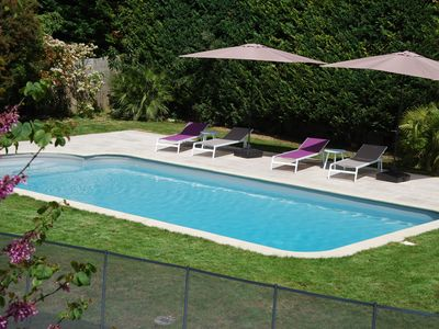 Photo for Charming family home 5 km north of AIx