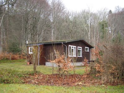 Photo for Well appointed, comfortable chalet, in a peaceful woodland setting.