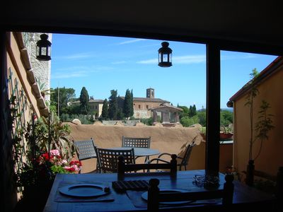 Photo for Tower House in the ancient village of Colle Val d'Elsa near S. Gimignano, Volterra