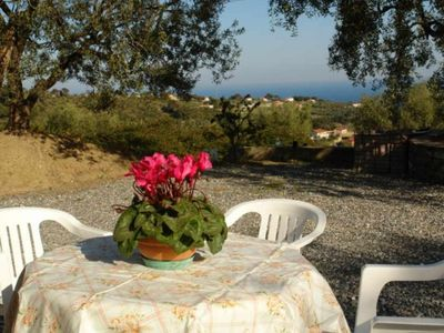 Photo for Casa Sottovento. Two bedrooms Terrace with sea view