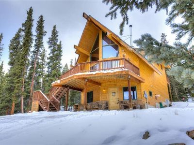 Photo for Beautiful Mountain Cabin w/ Privacy and Mountain Views!