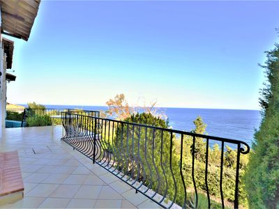 Photo for South facing villa in Théoule sur Mer between Cannes and St Raphaël