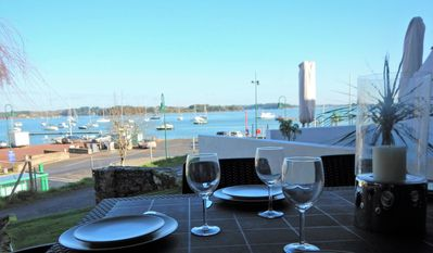 Photo for Gulf of Morbihan, superb and full view sea 5 minutes from Ile aux Moines