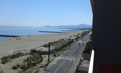 Photo for LARGE STUDIO, MAGNIFICENT SEA VIEW, CENTRAL BEACH