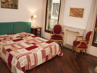 Photo for Lucky Venice - 2-bedroom apartment on the first floor just steps from S. Marco