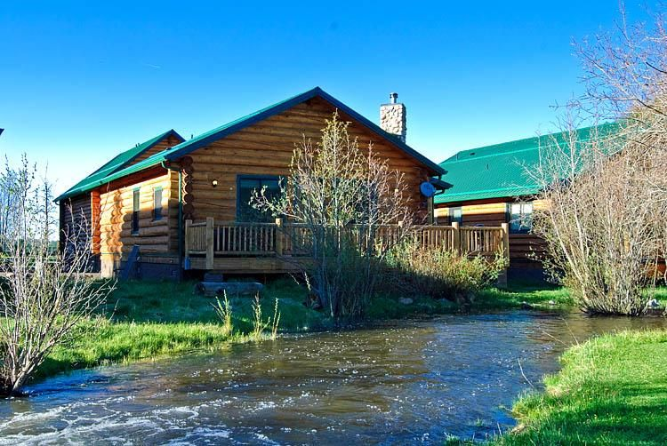 of from rentals sleeps night aspen cabins front cabin greer connection and